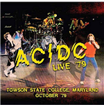 Vinile Ac/Dc - Live '79 - Towson State College, Maryland October '79 (2 Lp) 180gr