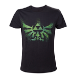 T-shirt The Legend of Zelda Distress Green Royal Crest - S