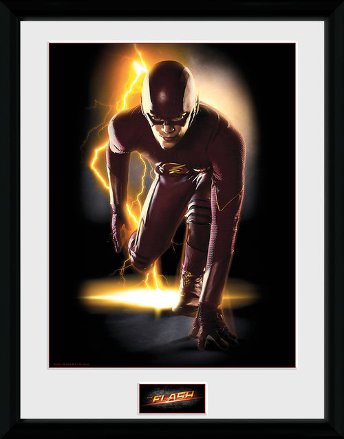 Poster Flash Speed incorniciato