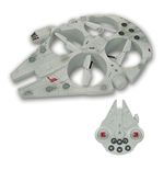 Robot Star Wars VII RC Quadrocopter Millenium Falcon 35 cm