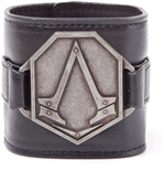Assassin's Creed Syndicate - Pu Wristband With Metal Logo Patch (Bracciale)