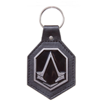 Assassin's Creed Syndicate - Pu With Metal Logo Patch (Portachiavi)