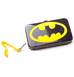 Batman - Black Phone Purse With Logo (Portacellulare)
