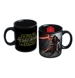 Star Wars - Episode VII - Tazza In Ceramica Con Kylo Ren E Star Wars VII Logo