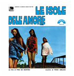 Vinile Piero Umiliani - Le Isole Dell'amore 180gr (Ltd.Ed.Transparent Blue Vinyl)