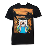 T-shirt Adventure Time Screaming