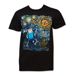 T-shirt Adventure Time Starry Night