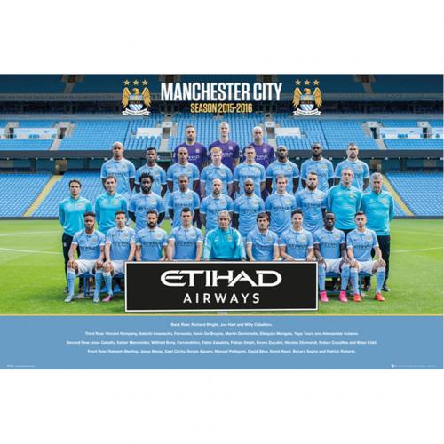 Poster Manchester City 194660