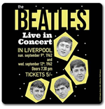 Beatles (The) - 1962 Live In Concert (Sottobicchiere)