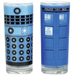 Dr Who - Dalek & Tardis Set Of 2 (Set Bicchieri)