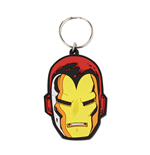 Portachiavi Marvel Comic - Iron Man Face