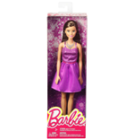Mattel DGX81 - Barbie - Fashion And Beauty - Barbie Glitz Abito Viola