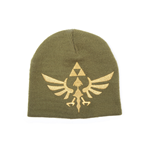 Nintendo - Zelda Beanie With Woven Golden Logo (Berretto)
