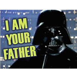 Star Wars - I Am Your Father (Magnete Metallo)