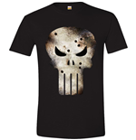 Punisher (THE) - Damaged Skull (unisex )