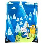 Adventure Time - Blue Mountain Jake & Finn (Borsa Ginnastica)