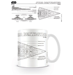 Tazza Star Wars Star Destroyer Sketch
