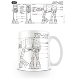Tazza Star Wars AT-AT Sketch