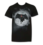 T-shirt Batman vs Superman Batman In Bat Signal