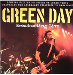 Vinile Green Day - Broadcasting Live Green Vinyl