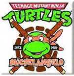 Teenage Mutant Ninja Turtles - Michelangelo (Magnete)