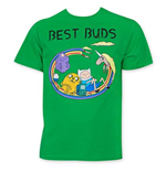 T-shirt Adventure Time Best Buds