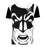 T-shirt Batman Black And White Giant Face