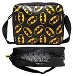 Batman - Black Messenger With Classic Logo (Borsa Tracolla)