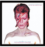 David Bowie - Aladdin Sane (Framed Album Cover Prints)