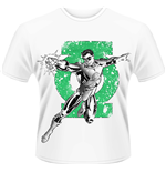 Dc Comics - Green Lantern - Punch (T-SHIRT Uomo )