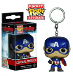 Marvel - Avengers 2 Age Of Ultron Pocket Pop - Captain America (Portachiavi)