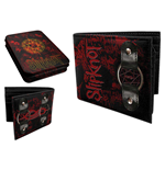 Slipknot - Black/red Tin Wallet W/ Ring (portafoglio)