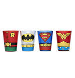 Set Bicchierini Supereroi DC Comics