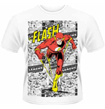 Dc Comics - Flash - Comic Strip (T-SHIRT Uomo )
