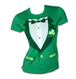 T-shirt Irish Tux St. Patrick's Day