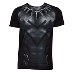 T-shirt Captain America Civil War BLACK PANTHER