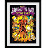 Simpsons (The) - Radioactive Man (Foto In Cornice 30x40cm)