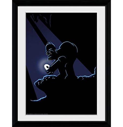 Simpsons (The) - Gollum (Foto In Cornice 30x40cm)