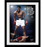 Muhammad Ali - Dream (Foto In Cornice 30x40cm)
