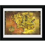 Lord Of The Rings - Middle Earth (Foto In Cornice 30x40cm)