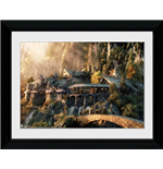 Foto In Cornice 30x40cm Lord Of The Rings - Fellowship Of The Ring