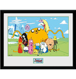 Adventure Time - Group (Foto In Cornice 30x40cm)