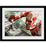 Attack On Titan - Titan (Foto In Cornice 30x40cm)