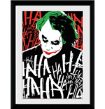 Batman The Dark Knight - Joker Ha (Foto In Cornice 30x40cm)