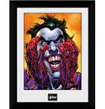 Batman Comic - Joker Laugh (Foto In Cornice 30x40cm)