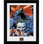 Batman Comic - Joker Defeated (Foto In Cornice 30x40cm)