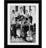 Beatles (The) - Instruments (Foto In Cornice 30x40cm)