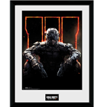 Call Of Duty Black Ops 3 - Cover (Foto In Cornice 30x40cm)