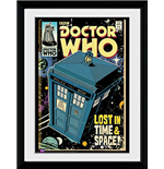 Doctor Who - Tarids Comic (Foto In Cornice 30x40cm)