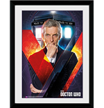 Doctor Who - Solo (Foto In Cornice 30x40cm)